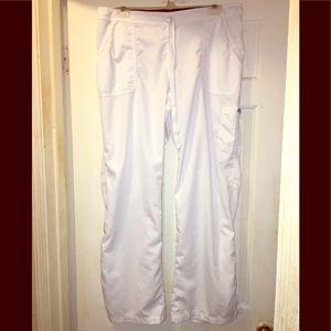 White Grey's Anatomy Scrub Pants